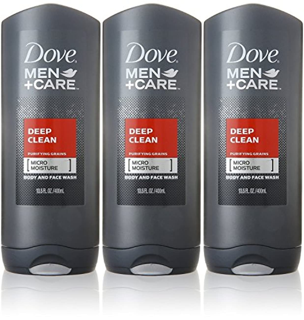 変換する関係ない兵隊Dove Deep Clean Mens Body Wash, 13.5 Ounce -- 3 per case. by Dove