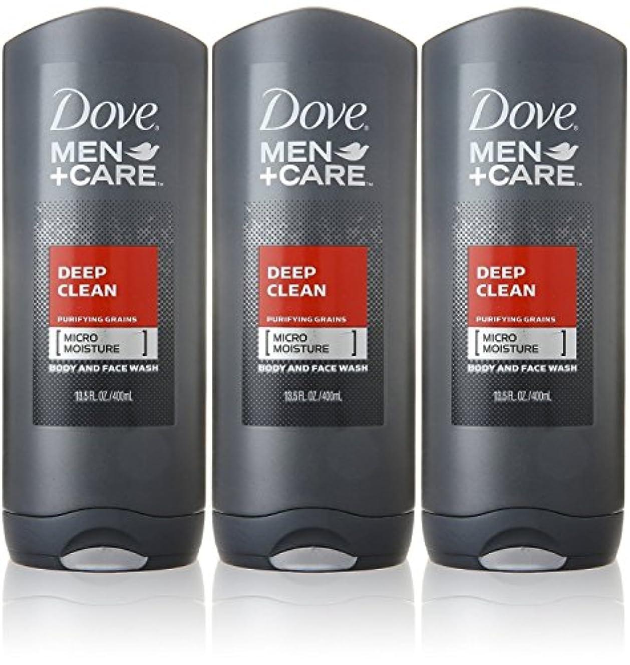 不利パット雪だるまDove Deep Clean Mens Body Wash, 13.5 Ounce -- 3 per case. by Dove