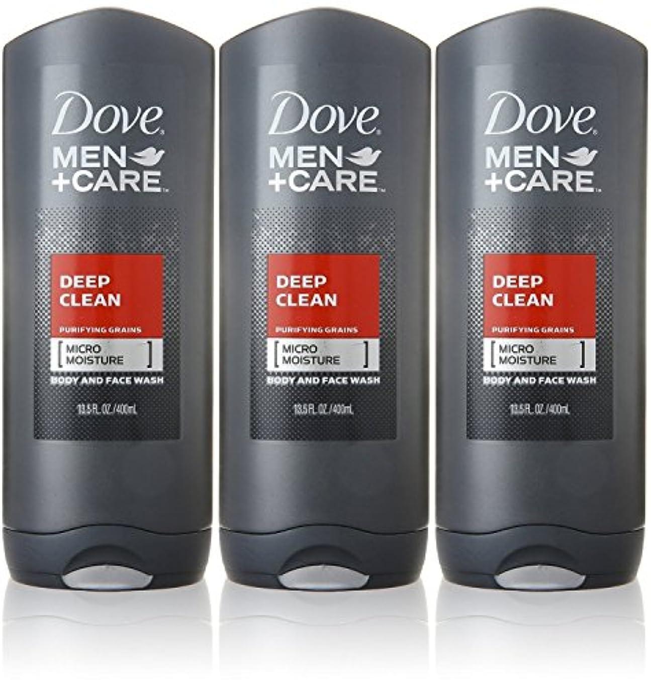 隠す三番マウントDove Deep Clean Mens Body Wash, 13.5 Ounce -- 3 per case. by Dove