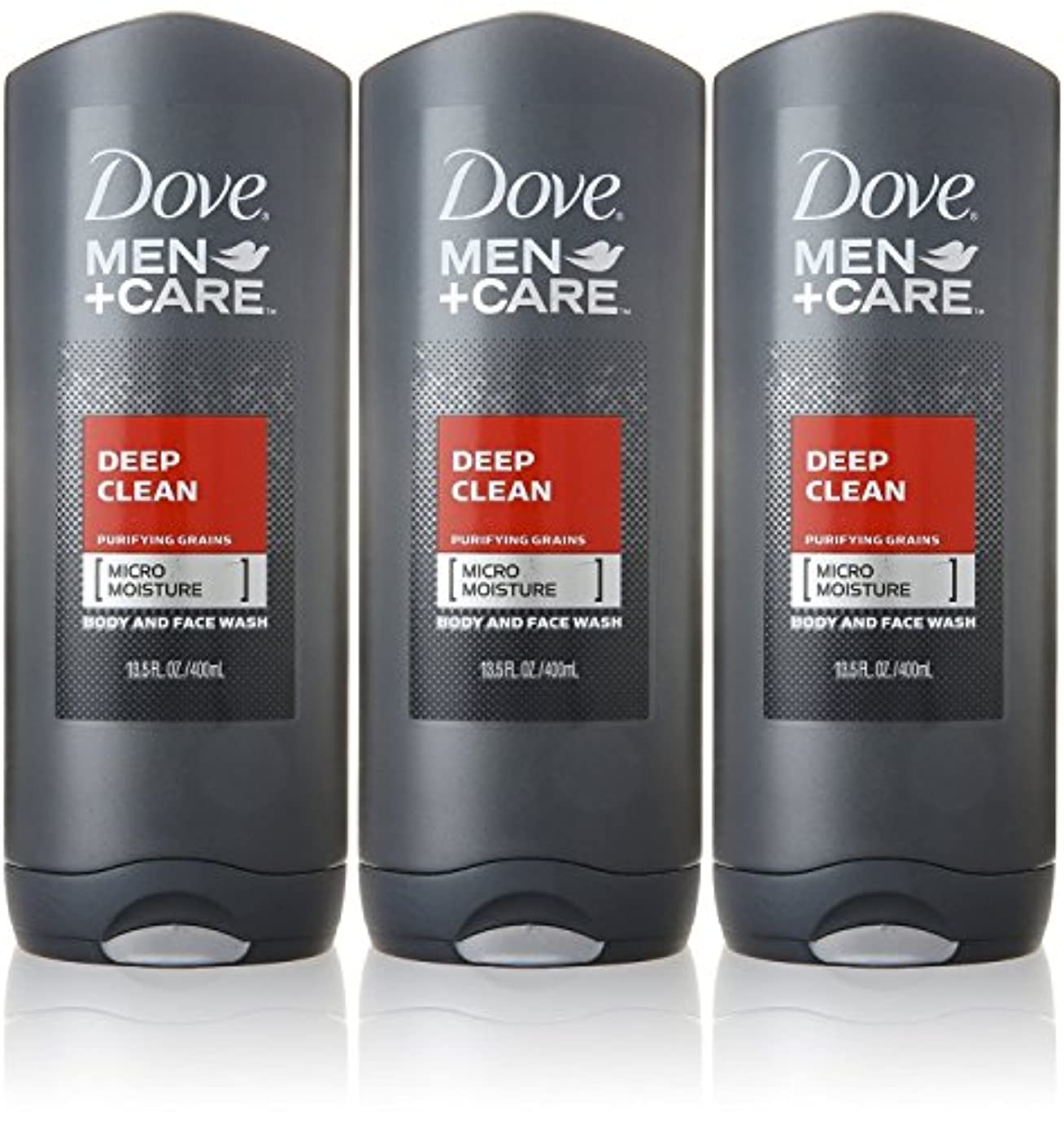 導体ご覧くださいトピックDove Deep Clean Mens Body Wash, 13.5 Ounce -- 3 per case. by Dove