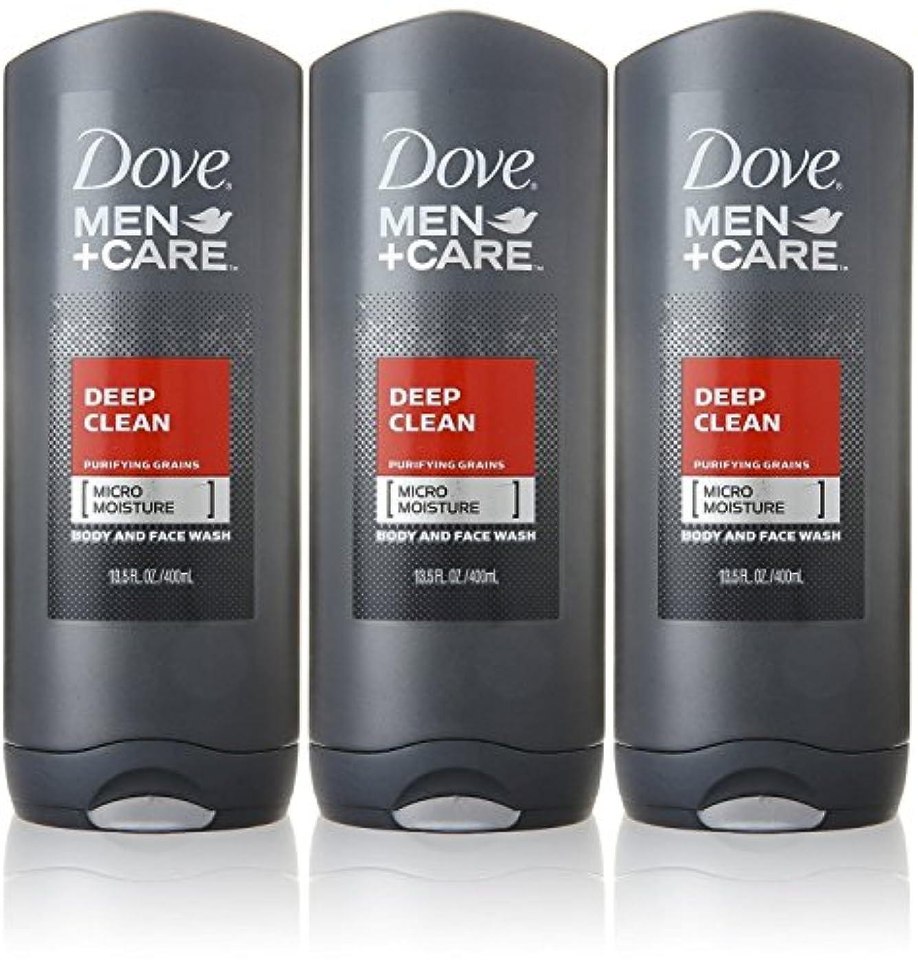 通訳自宅でファイターDove Deep Clean Mens Body Wash, 13.5 Ounce -- 3 per case. by Dove