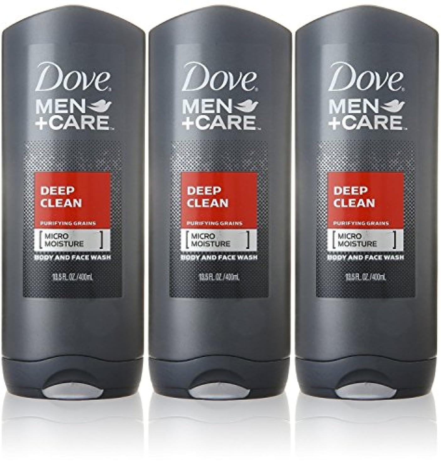 近所の気分が良い飼いならすDove Deep Clean Mens Body Wash, 13.5 Ounce -- 3 per case. by Dove