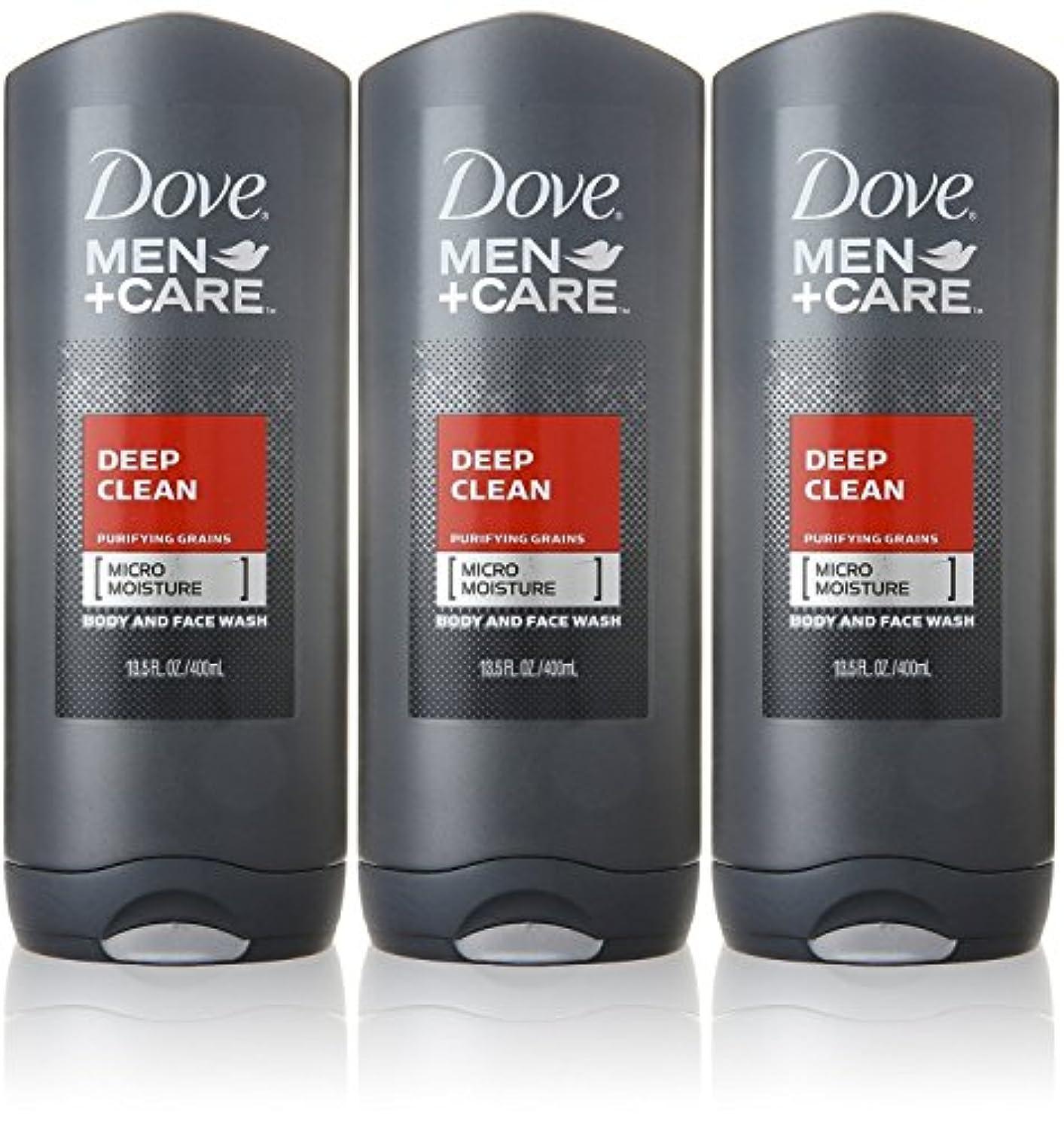 警官凝視エキスDove Deep Clean Mens Body Wash, 13.5 Ounce -- 3 per case. by Dove