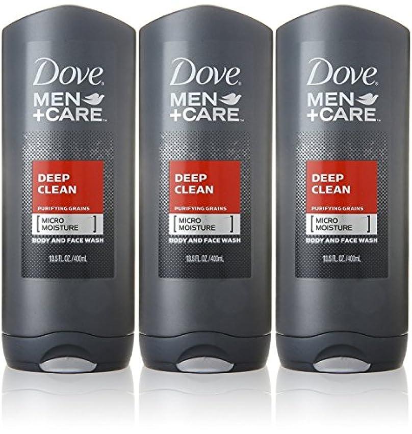 研磨剤野な嘆願Dove Deep Clean Mens Body Wash, 13.5 Ounce -- 3 per case. by Dove