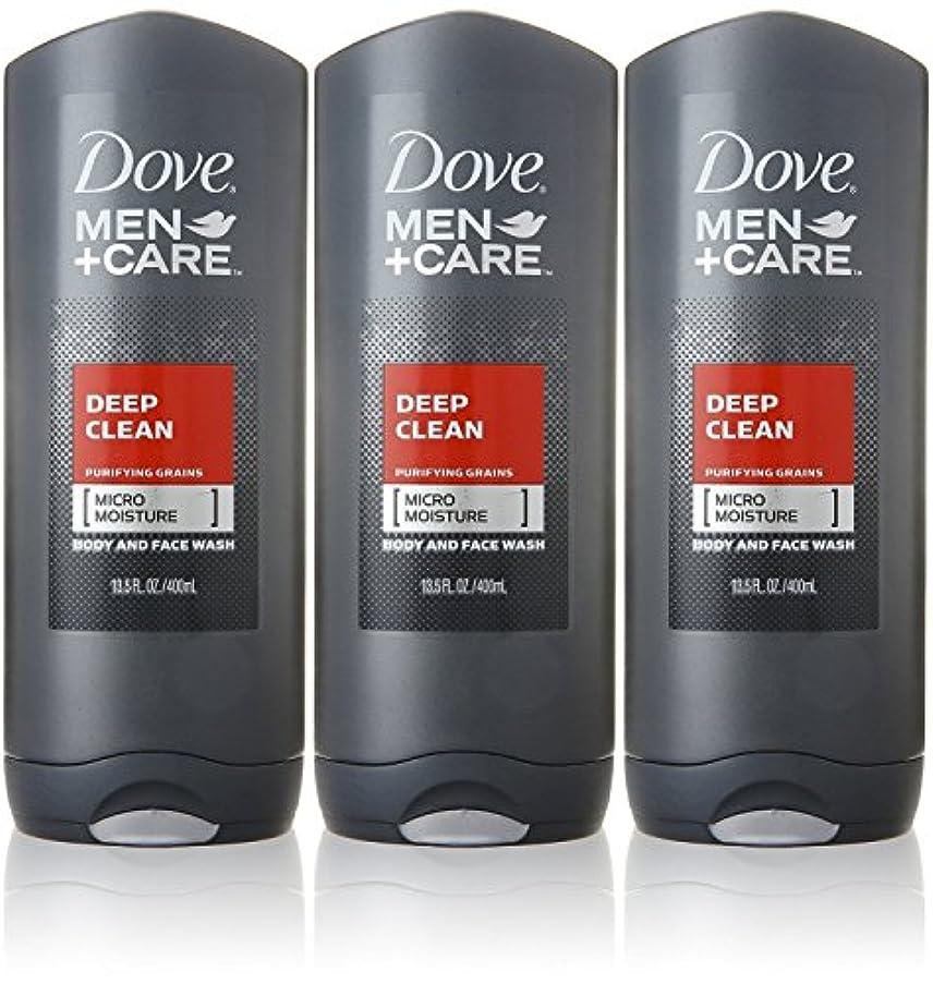 従う演劇と遊ぶDove Deep Clean Mens Body Wash, 13.5 Ounce -- 3 per case. by Dove