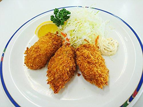 広島県産 超大粒 カキフライ 45g×10個×5トレー かき カキ 牡蠣 フライ かき貝 お弁当 おかず かきふらい 【水産フーズ】