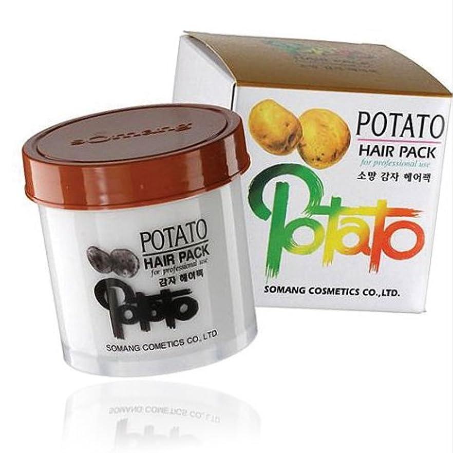 貧困腹部サーキットに行く【韓国コスメ】[Somang/希望]Somang Potato Hair Pack 150ml/ポテト(ジャガイモ)ヘアパック(海外直送品)