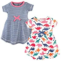 Touched by Nature Baby Organic Cotton Short-Sleeve Dresses