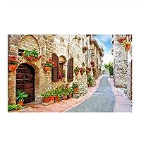 山笑の美 ヨーロッパのモダンな壁紙写真3D田舎の風景roamantic壁紙壁画アート壁紙-200X150CM