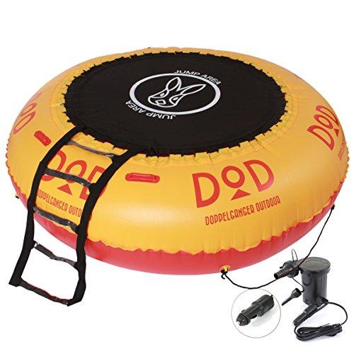 DOD(ディーオーディー) インフレータブル トランポリン 電動ポンプ付 DTR-01