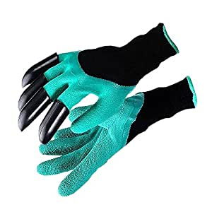 MIRAIS 園芸用 手袋 左右セット ツメ グローブ 効率 ガーデニング 土いじり DIY MR-GRD-HANDS