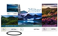 Leeフィルタ67mm Essentials Kit–FKホルダー、67mm幅角度アダプタリング、Lee 4x 6ソフトエッジGrad NDセット、新しいLee 105mmスリムLandscape Circular Polarizer &フロントアクセサリーリング、with 2フィルタクリーニングキット