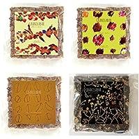 グラノーラバー4枚セット【ナッツ・フルーツ・キャラメルマキアート・チョコファッジ】