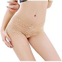 SAMGU Women Sexy Lace Low Rise Panty Thong