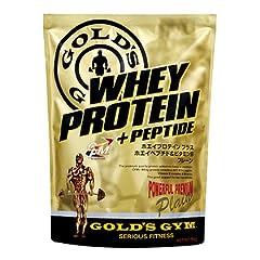 【GOLD`S GYM  (ゴールドジム)】 ホエイプロテイン プレーン(ノンフレーバー) 2kg [その他]
