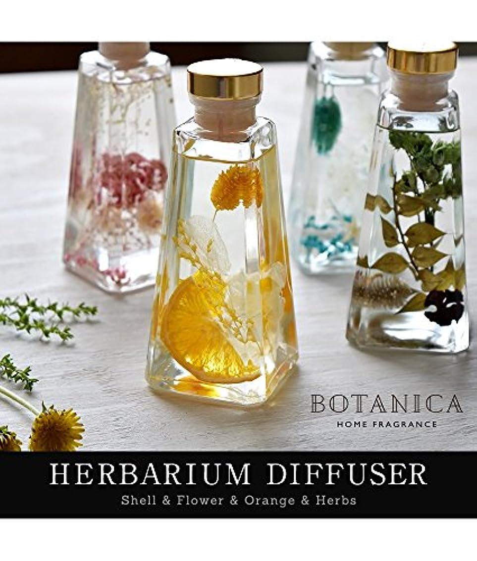 路面電車乳白立派なボタニカ ハーバリウム ディフューザー 【グリーン/Neat Herbs】 ホームフレグランス