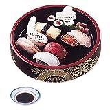 サンリオ 誕生日カード 型抜き 寿司桶 L70