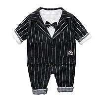 ab9e089922287 HAPPYJP 子供服 男の子 スーツ 上下セット キッズ フォーマル シャツ パンツ ベビー服 結婚式 入園式