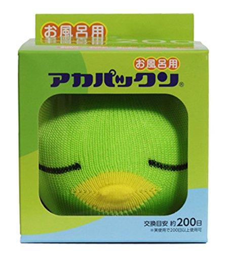 恵川商事 浴槽掃除 アカパックン お風呂用 グリーン