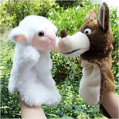 Angle 羊と狼 ひつじ おおかみ 人形 劇