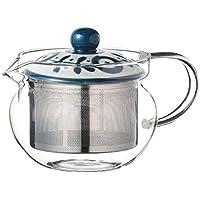 西海陶器 ガーデン スーパーステンレス茶こしポットPC(ガラス) 12733