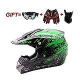 アダルトクロスカントリーヘルメット、ゴーグル+ +手袋マスク、オートバイのヘルメット男性と女性フォーシーズンズユニバーサルロードバイクヘルメットアダルト (Color : 9010, Size : L)