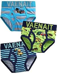 [Vaenait Baby] 1-7歳子供肌着綿100%キッズ男の子下着セットボクサーブリーフ