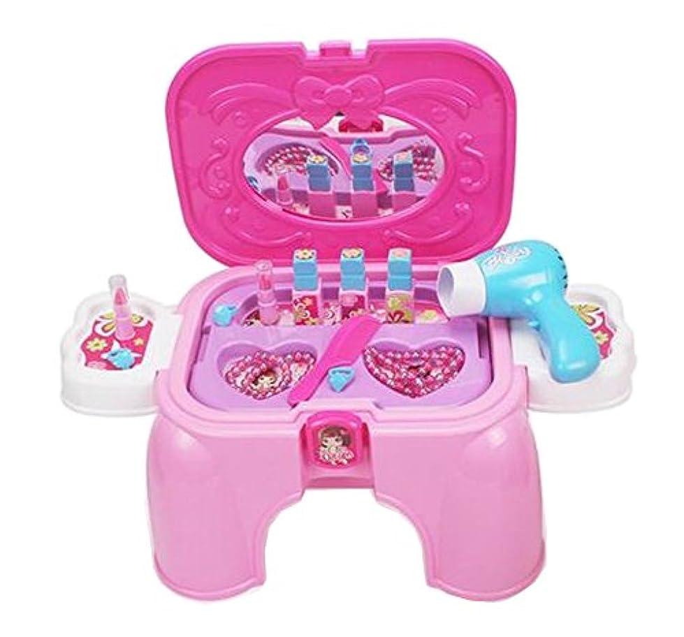 出くわす週末小競り合いベビー/子供DIYツールPlayset色認識プラスチックおもちゃのドレッシングテーブル