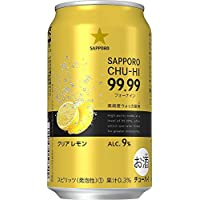 【純度99.99% の高純度ウォッカ使用のチューハイ】[新発売]サッポロ 99.99<フォーナイン>クリアレモン 350ml×24本 アルコール9%