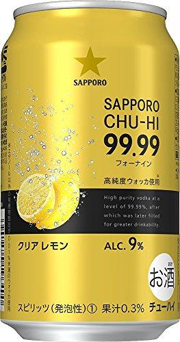サッポロビール『サッポロチューハイ 99.99 クリアレモン』