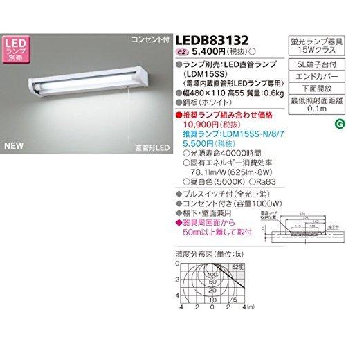 流し元灯 棚下・壁面兼用タイプ LEDB83132