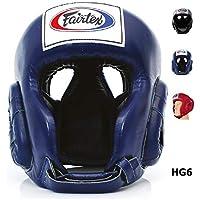 Fairtex hg6 Competitionヘッドガード – 保護用ボクシング、キックボクシング、ムエタイMMA