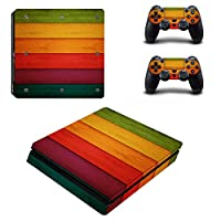 Linyuan 安定した品質 0063* Skin Sticker Vinyl Decal Cover for PlayStation PS4slim Console+Controllers