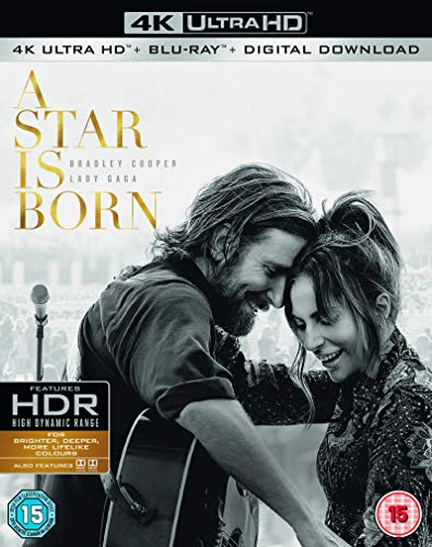 【UK版・日本語対応】アリー/ スター誕生 (4K Ultra HD/Blu-ray) ※ページ下部の商品説明を必ずお読みください