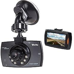 ドライブレコーダー 車載カメラ ドラレコ 2.7インチ 1080PフルHD 1200万画素 Gセンサー ビデオカメラ 140度広角 循環ループ録画 駐車監視機能 小型 防犯 日本語説明書付き