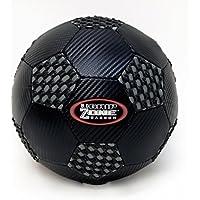 Fun Gripper 8.0 (新しい)ブラックcarbon-fiberサッカーボール(ブラック、グレー)サイズ( 4 ) by : Saturnian I p.e.仕入先