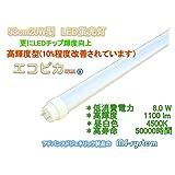 LED蛍光灯 エコピカlumi 58cm 高輝度 1100lm 昼白色 省エネ
