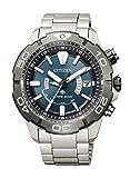 [シチズン] 腕時計 プロマスター エコ・ドライブ電波時計 MARINEシリーズ ダイバー200M 2019年度グッドデザイン賞受賞 AS7145-69L メンズ シルバー