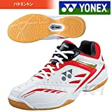 YONEX(ヨネックス)「POWER CUSHION 640 (パワークッション640) SHB-640」バドミントンシューズ「 」 22.5 ホワイト/レッド(114)