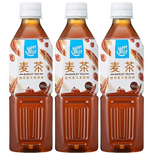 Amazon Happy-Belly 麦茶 500ml×3本