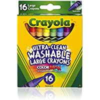 Crayola Large Washableクレヨン – - 1ケース12。