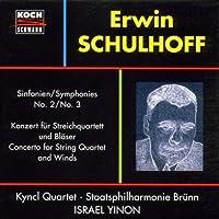 Schulhoff;Symphonies Nos.2/3