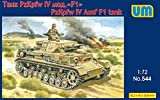ユニモデル 1/72 ドイツ軍 4号戦車 F1型 プラモデル UU72544
