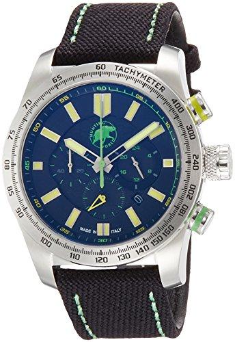 [ハンティングワールド]HUNTING WORLD 腕時計 スーパークロノマジック クォーツ ブラック×イエロー文字盤 10気圧防水 HW025SBKY メンズ 【正規輸入品】