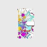Android One X2 対応 高品質印刷 デザイン手帳 手帳型 カメラ穴搭載 ダイアリー スマホケース スマホカバー レザー 横開き ケース カバー デザインD