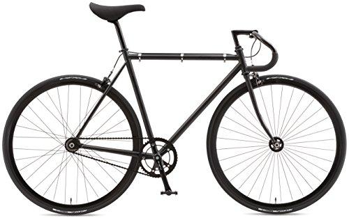 FUJI(フジ) FEATHER 700×25C シングル ピストバイク MATTE 43cm ブラック 16FETRBK43