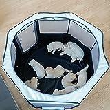 petsfit犬用品 折りたたみ 八角形 ペットサークル プレイサークル 犬 猫 兼用 コンパクト