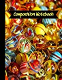 Composition Notebook: Lampwork Glass Beads Jewelry Making Cover Theme.  College Ruled Lined Journal.