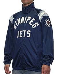 Winnipeg Jets NHLメンズアスレチックジップアップトラックジャケット