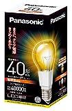 パナソニック LED電球 口金直径26mm  電球40W形相当 電球色相当(6.4W) 一般電球・クリア電球タイプ 密閉形器具対応 LDA6LC